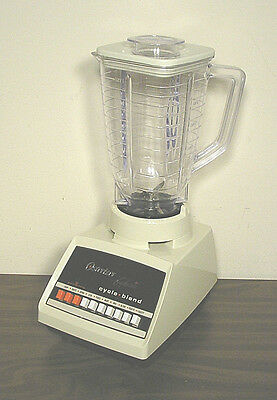 Vintage OSTER Osterizer Galaxie Blender (70s/80s) Plastic Pitcher WORKS WELL!