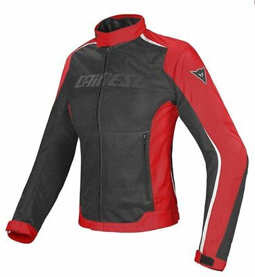 Dainese G. Hydra Flux D-DRY Lady black red white, motorcycle jacket woman, NEW!