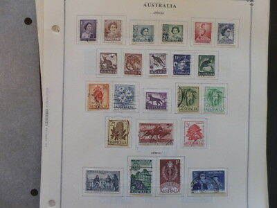 Australia / AAT 1959 - 1976 Mint / Used Collection on Album Pages $204+