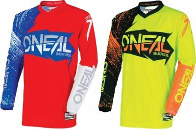 Oneal Youth Boys Element Burnout MX Jersey
