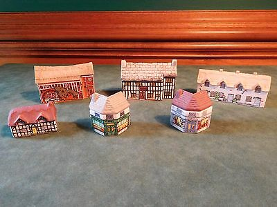 6 Wade Pottery Whimsey On Why Village Houses Buildings Shops,  England