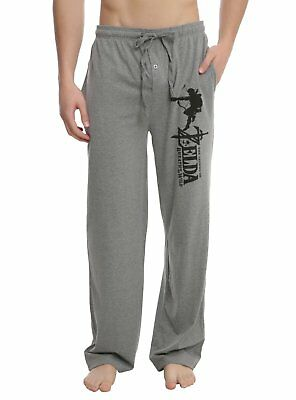 Mens Womens The Legend Of Zelda: Breath Of The Wild Pajama Lounge Pants S-2XL