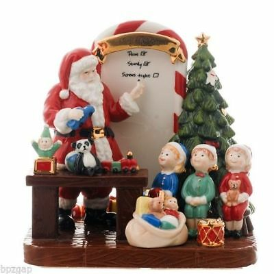 Royal Doulton 2011 Holiday Traditions Santa's Toy Testing HN5551