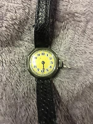 Vintage Silver Ladies Wrist Watch Birmingham 1934