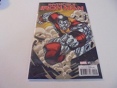 Invincible Iron Man #9 Jim Lee Variant Marvel NM Comics Book