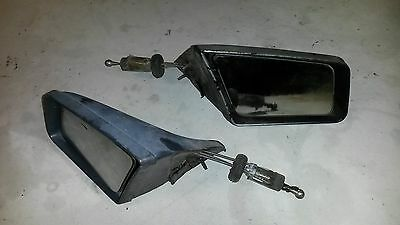 79-86 Mustang remote door mirrors GT LX sport mirror Ford 5 liter 5.0  Foxbody