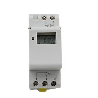 HOT! Digital LCD Programmable Timer AC 220V 16A Time Relay Switch