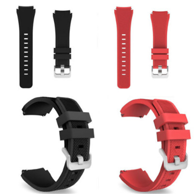 One Silicone Bracelet Strap Watch Band For Samsung Gear S3 Frontier/Classic 22mm