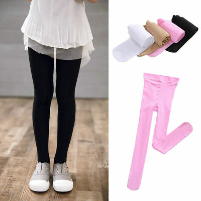 Kids Girls Child High Quality Tights Pantyhose Solid Color Ballet Dance Pants