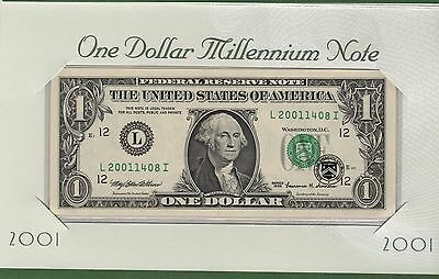 2001 MILLENNIUM NOTE From The SAN FRANCISCO  District Error Note