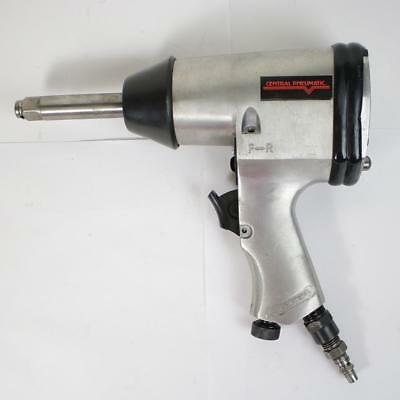 """Central Pneumatic 1/2"""" Extended Anvil Air Impact Wrench 93566 NO RESERVE"""