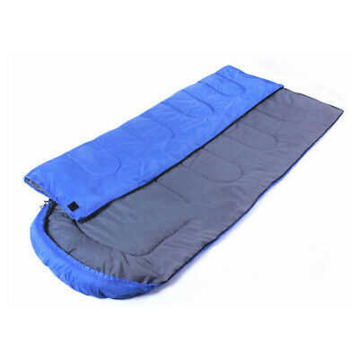 Thermal Single Outdoor Camping Sleeping Bag Envelope Hiking Mat Winter -20°C