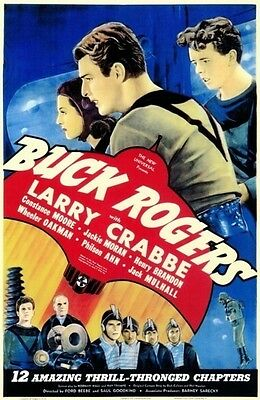 Buck Rogers ~ 1939 Cliffhanger Serial 12 Chapters ~ Rare DVD ~ Buster Crabbe