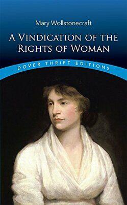 A Vindication of the Rights of Woman (Dover... by Wollstonecraft, Mary Paperback