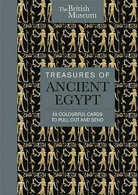 British Museum: Treasures of Ancient Egypt: 20 Colourful Cards to Pull Out and S