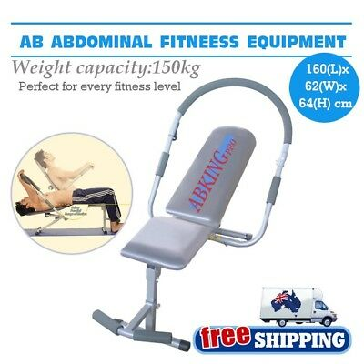 AB Abdominal Master Pro Sit Up King Chair Bench Home Exercise Fitness Machine