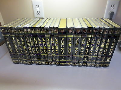 Beautiful set of The World Book Encyclopedia 2009 most of them are still sealed!