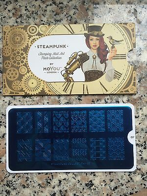 Moyou plaque de stamping Steampunk 07 neuf