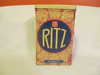 Vintage Nabisco Ritz Tin Dated 1995~Low Shipping