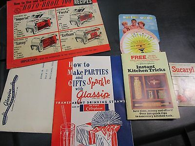 Lot of Vintage Paper Advertising Items, Bronztan, Sucaryl, etc. VGUC