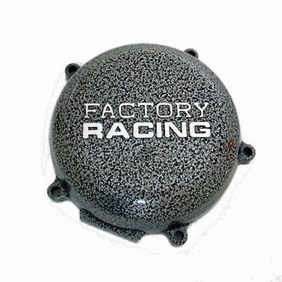 Boyesen Factory Racing Ignition Cover Silver for Kawasaki KX500 88-04