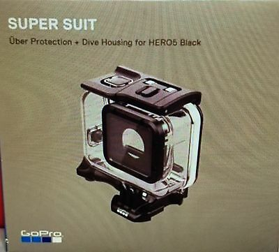 Genuine GoPro Super Suit Waterproof Camera Case Dive Housing HERO 5 Hero5 Black