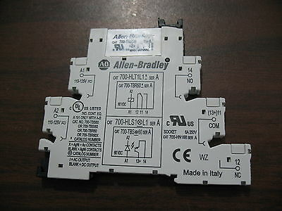 New Allen Bradley 700-HLT1L1 with 700-TBR60 Relay