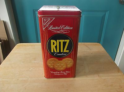 1986 Limited Edition Ritz Crackers Tin