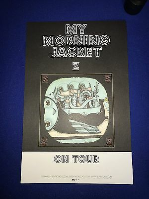 2005 My Morning Jacket Z PROMO POSTER TOUR 11x17in UNUSED NR MINT