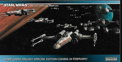 The Star Wars Trillogy Widevision Promo Card No.P3 / 1996