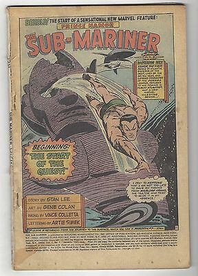 Sub-Mariner Special 1! Coverless! Great Marvel Bronze Age Giant Size Comic Book!