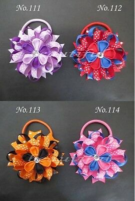 20 BLESSING Good Girl Boutique Modern Style A- Bird's Nest Hair Bow Clip 158 No.