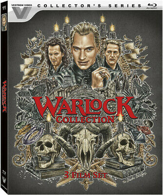 Warlock Collection (Vestron Video Collector's Series) [New Blu-ray] Digital Th