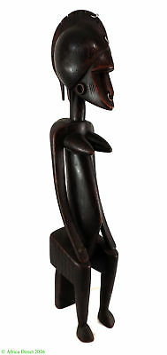 Senufo Seated Female Ivory Coast Africa 28 Inch Gelb Collection SALE WAS $490