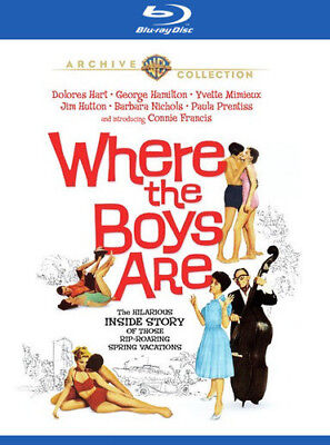 Where The Boys Are [New Blu-ray] Manufactured On Demand, Widescreen, Digital T