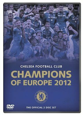 Chelsea FC - Champions of Europe 2012 [DVD] - DVD  TQLN The Cheap Fast Free Post