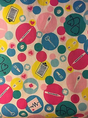 Colorful Medical Items Stethoscope  Cover - NEW - Handmade - FREE S&H