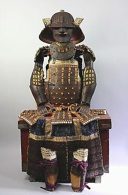 Fine Set of Samurai Armor Gusoku . Edo. 18th-19th century