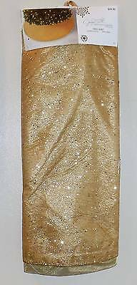 """Golden Radiance Tree Skirt ~Jaclyn Smith~ NWT $24.99~52"""""""