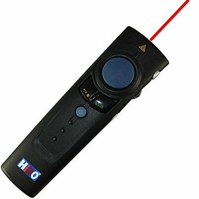 3 in 1 2.4GHz WiFi Black Presenter Laser Pointer Wireless Mouse Up to 100ft Wind