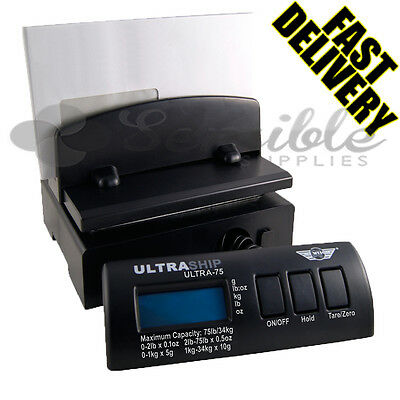 My Weigh Ultraship Postal Digital Weighting Scale - 75Lbs / 34Kg - Fast Delivery
