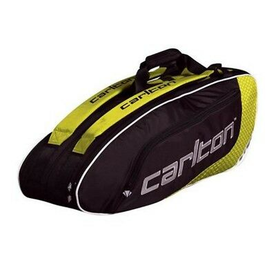 Carlton Tour 2 Compartment Thermo 6 Racket Racquet Holder Bag - NEW 2017
