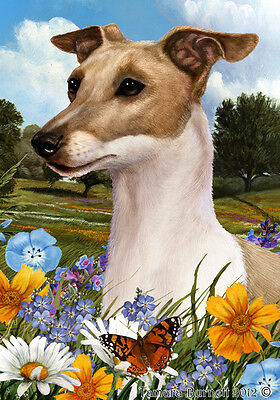 Garden Indoor/Outdoor Summer Flag - Italian Greyhound 180651