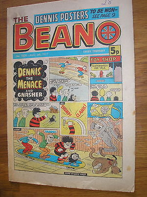 the beano comic 6 august 1977, 40th birthday present