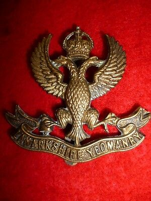 The Lanarkshire Yeomanry Cap Badge, Gaunt Maker, KK 1430, Scottish Yeomanry