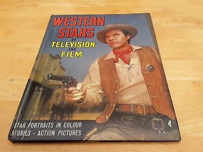 Western Stars of tv and film annual with stories and action  pictures.