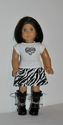 American Made Doll Clothes For American Girl Dolls Dress Lot 00110
