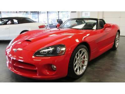 2004 Dodge Viper SRT-10 2004 Dodge Viper SRT-10 6 Speed Convertible Red Only 12K Miles Like New Must See