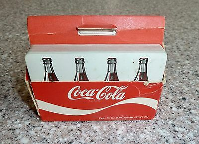 "Rare Vintage Coca Cola Double Deck Playing Cards, ""A Gallon of Coke"", 1970's"