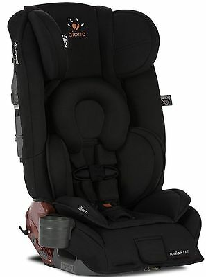 Diono Radian RXT Midnight Convertible Booster Folding Child Safety Car Seat NEW